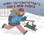 Uqi's New Parka (Inuktitut/English)