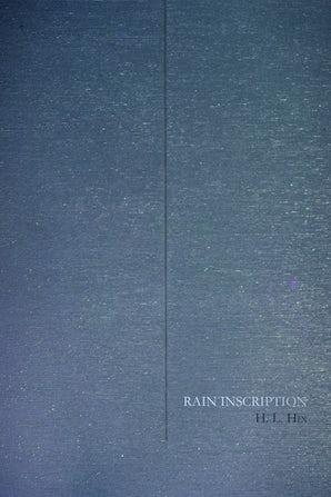 Rain Inscription