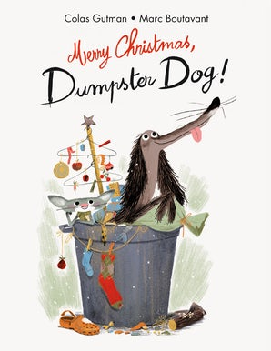 Merry Christmas, Dumpster Dog!