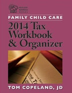 Family Child Care 2014 Tax Workbook and Organizer