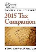 Family Child Care 2015 Tax Companion