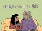 Grandma, How Do You Light the Qulliq? (English)