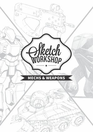 Sketch Workshop: Mech & Weapon Design