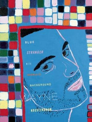 Blue Stranger With Mosaic Background