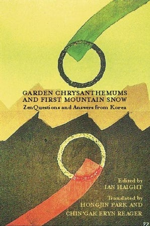 Garden Chrysanthemums and First Mountain Snow