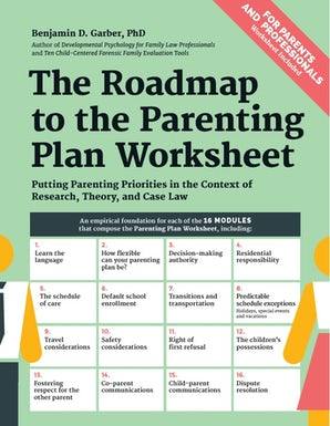 The Roadmap to the Parenting Plan Worksheet
