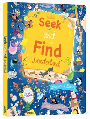 Seek and Find: Wonderland