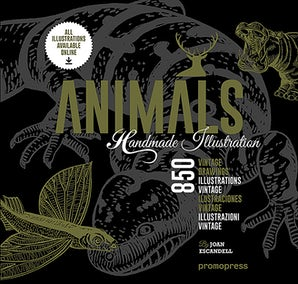 Animals: 850 Handmade Illustrations