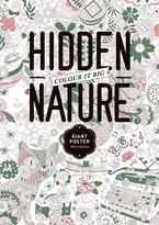 The Hidden Nature Coloring Poster
